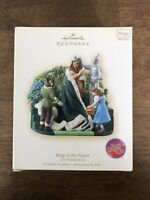 Hallmark Ornament Wizard of Oz KING OF THE FOREST Magic Sound Music Keepsake