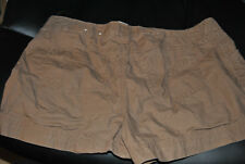 NEW BROWN JUNIORS SIZE 5 SHORTS WITH POCKETS