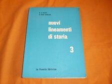 PICOTTI-SABATINI NUOVI LINEAMENTI DI STORIA LA SCUOLA EDITRICE 1965
