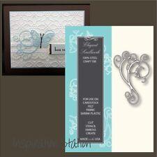 Elegant Scrollwork metal die Memory Box Dies 98153 scroll flourish swirl