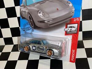 "Hot Wheels 1996 Porsche 911 Carrera - ""SIG SAUER RACING"" REAL RIDERS custom"