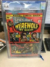 MARVEL SPOTLIGHT #2 CGC 9.4  1st WEREWOLF BY NIGHT Ploog