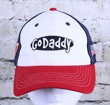 Go Daddy 2014 Nascar Danica 10 Strapback Trucker Hat Ball Cap Red White Blue