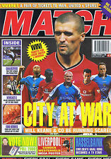 MAN CITY / WESTERVELD LIVERPOOL / NEWCASTLE / HASSELBAINK	Match	Nov	18	2000
