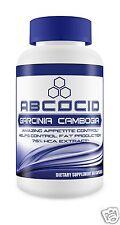 Abcocid Garcinia Cambogia 75% HCA 1550mg 100% Pure 60Caps Very High Quality slim