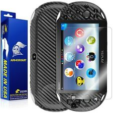 ArmorSuit MilitaryShield Sony PS Vita Slim (2014) Screen Protector+ Black Carbon