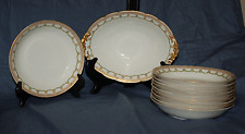 10 Pc. Marshall Field Laviolette Antique Limoges China