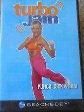Turbo Jam Punch Kick & Jam Workout DVD Beachbody Kickboxing Exercise Fitness