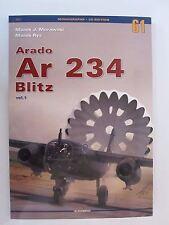 Kagero Book: Arado Ar 234 Blitz Vol. I -  93 archival photographs, 10 painting