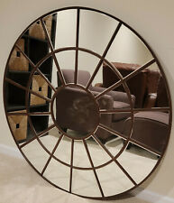 "Large 48"" beveled mirror"