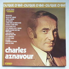 CHARLES AZNAVOUR Disque d or 2C064 16055