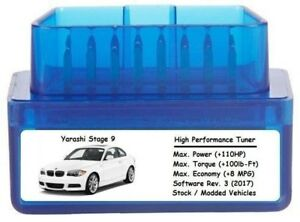 Stage 9 Performance Power Tuner Chip [ Add 110 HP 8 MPG ] OBD Tuning for Chevy