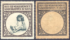 1910s Austria - Help New Creches (Orphanage or Nursery) printed on back