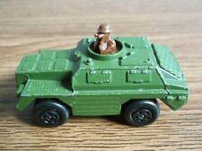 Rare vintage MATCHBOX series diecast Army truck Lesney & Co Ltd 1973 England.