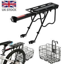 MTB Mountain Bike Bicycle Rear Pannier Rack Bracket Carrier Luggage Front Basket
