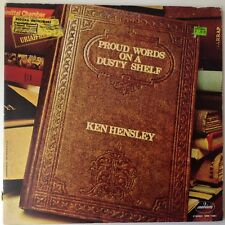 Ken Hensley Proud Words On A Dusty Shelf 1973 Uriah Heep Vinyl Record LP / rare