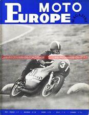 EUROPE MOTO MAG 01/71 Gamme TRIUMPH 1971 BSA 350 Fury ; Roberto GALLINA PATON !