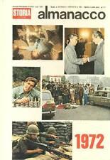3 ALMANACCHI DI STORIA ILLUSTRATA, 1972 - 1974 - 1980