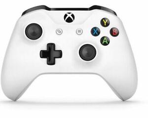 Genuine OEM Microsoft Xbox One Wireless Controller 1708 (White) 3.5mm Jack S X