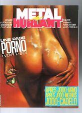 Métal Hurlant n°95. Éditions Humanoïdes associés.  1984. SCHUITEN.