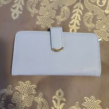Credit Card Clutch Wallet, Light Blue