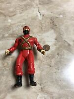 Vintage GI Joe Cobra Red Ninja action figure Toy Rare