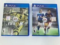FIFA 16 and 17 (Sony PlayStation 4, PS4) 2 Game Lot Bundle Tested EUC Complete