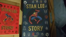 The Stan Lee Story by Roy Thomas - English Hardcover Book w/ French Cover Book