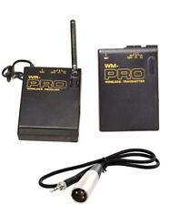Pro X70 WLM XLR M wireless lavalier mic for Sony XDCAM PXW X200 X180 X160 HD