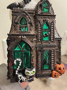bath and body works wallflowers halloween Cat Haunted House Green