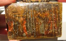 XVIII - XIX secolo Venezia o Cina, Scatola in legno decorato a cineserie. Rara.