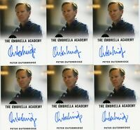 VL The Umbrella Academy S1 Autograph card Peter Outerbridge as the Conductor