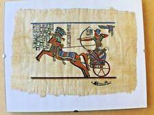 Tableau Papyrus numéroté origine Egypte Neuf