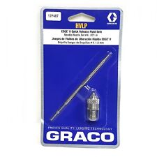 "Graco HVLP 17P487 Quick Release Fluid Needle Nozzle #4 Kit 0.071"" 1.8mm"