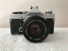 Olympus OM-1n 35mm used SLR Film Camera with 50 mm 1.8 lens