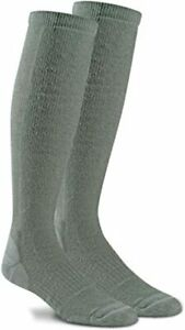 US Military Fox River FATIGUE FIGHTER Compression Boot Sock Large Foliage Green