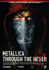 METALLICA Through The Never 2x DVD FRENCH VERSION