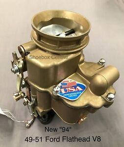 1949-1953 Ford Flathead V8 94 Carburetor New