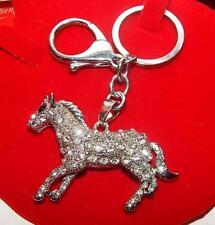 SchlüsselAnhänger Pferde PONYANHÄNGER Swarovski*Elemente TaschenanhängerGeschenk