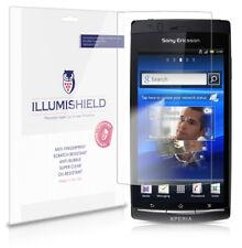 iLLumiShield Anti-Bubble/Print Screen Protector 3x for Sony Ericsson Xperia Arc