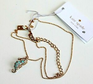 Kate Spade New York Necklaces gold plated Paradise Found seahorse women's