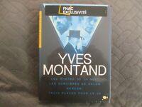 """COFFRET 4 DVD NEUF """"YVES MONTAND : LES PORTES DE LA NUIT / SORCIERES SALEM / TRO"""