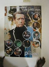 The Prisoner Poster Patrick McGoohan Commercial not a