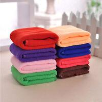 Microfibre Cotton Bath Towel Sports Travel Camping Gym Lightweight 30x70cm Ea