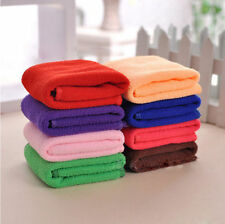 Microfibre Cotton Bath Towel Sports Travel Camping Gym Lightweight 30x70cm``