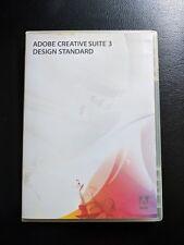 Adobe Creative Suite 3 Design Standard for Mac OS - NO Serial/License Number