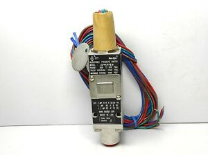 ITT Neo Dyn 232P44C6EHNR Adjustable Pressure Switch Range 2800 TO 6000psig