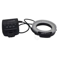 Meike MK-FC100 5500K GN15 LED Macro Ring Flash Light Kit for Sony DSLR Cameras