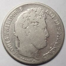 1 FRANC LOUIS-PHILIPPE 1840B ROUEN