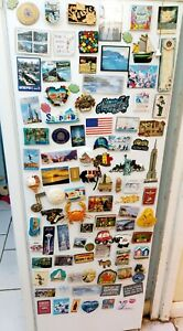 Collection Of Fridge Magnets from around the World Job Lot x 96! Some vintage